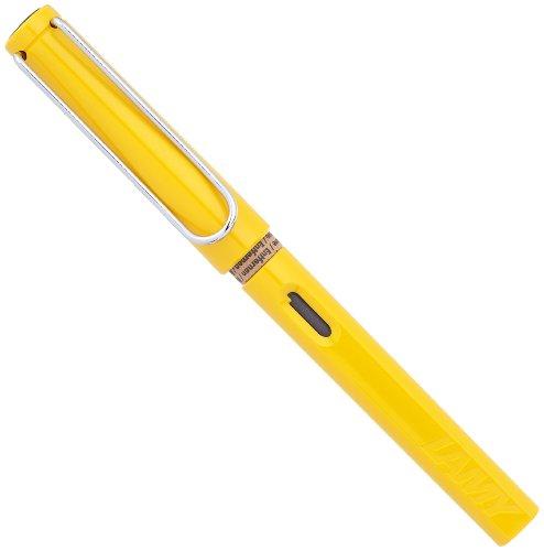 Lamy Safari Fountain Pen in Yellow with an Extra Fine Nib