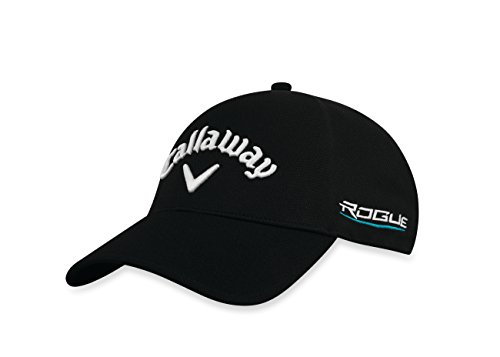 Callaway 2018 TA Seamless Fitted Cap Mens Black Small/Medium