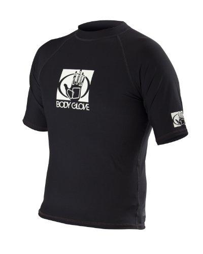 - Body Glove Men's Basic Short Arm Rashguard, Black, Large by Body Glove