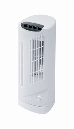 Connect-it Mini Tower Fan 3 Speed 90° Oscillation 30W H330mm Ref ES178 HI Distribution Ltd 181350