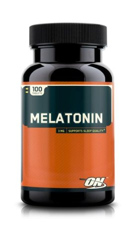 La mélatonine Optimum Nutrition, 100 comprimés 100 comprimés
