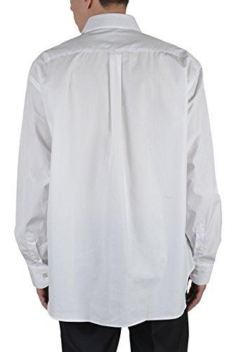 Armani Collezioni Men's White Button Down Dress Shirt US 17.5L IT 44