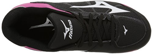 Franchise Black Youth 6 Pink Finch Mizuno 9Spike Advanced Shoe Softball 8wwtqU7