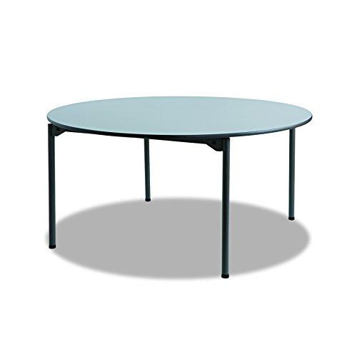 Folding Iceberg Table Round - Iceberg ICE65867 Maxx Legroom Melamine Laminate Round Folding Table, 60