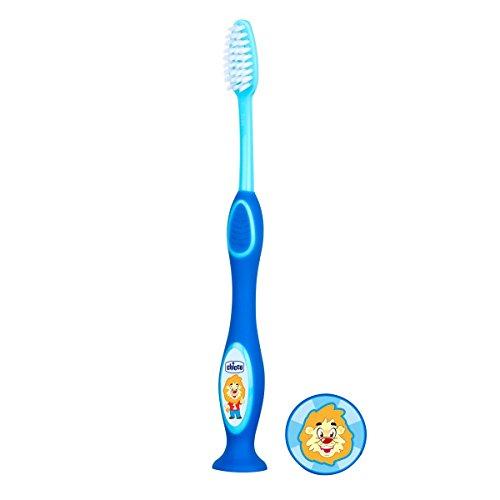 Escova de dentes (3-6 anos) - Azul, Chicco, Azul, A partir dos 3 anos