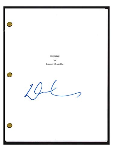 Damien Chazelle Signed Autographed WHIPLASH Full Movie Script COA from Unknown