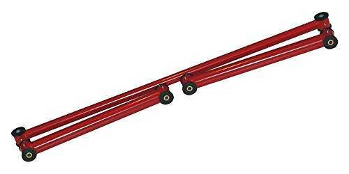 Founders Performance 23811R-PHR Lower Control Arms & Panhard Bar Red – Car Set
