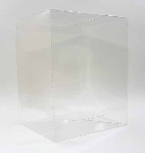 "Funko Pop! Vinyl 6"" Box Protectors Acid Free Crystal Clear Cases - 10 Pack"