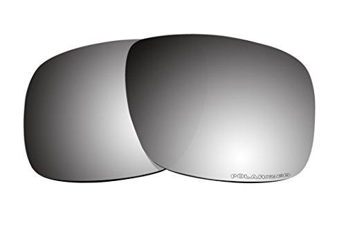 Sunglass Black Iridium Polarized Lenses Replacement for Oakley Holbrook - Sunglasses Oakleys Holbrook