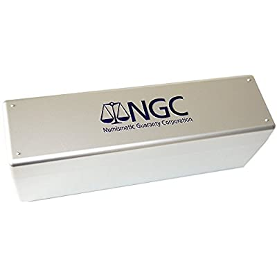 NGC Plastic Storage Box for 20 Slab Coin Holders: Toys & Games