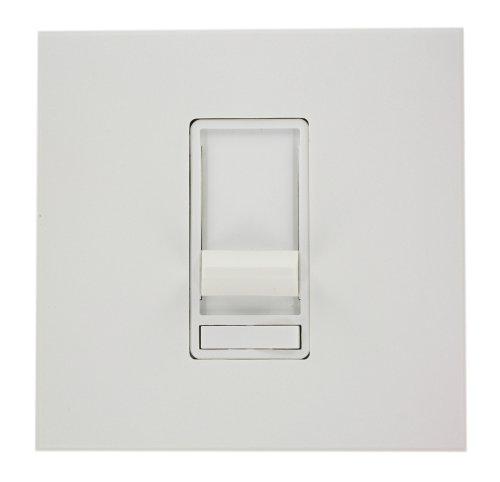 Leviton 86679-7W Architectural Slide Fluorescent Dimmer, 277 Vac, Color White, Decora Frame (Leviton Frame Color)