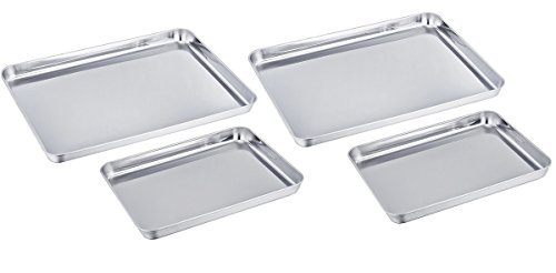 Tramontina ProLine Commercial Grade 4 Pack Baking Sheets