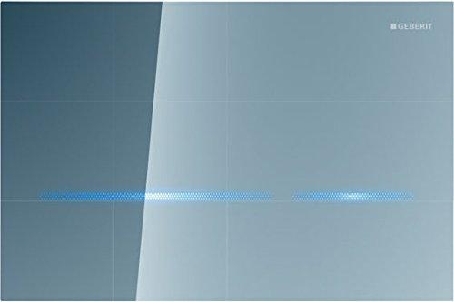 Geberit 116.090.SM.1 Sigma80 Toilet Flush Actuator Plate, Mirrored Glass