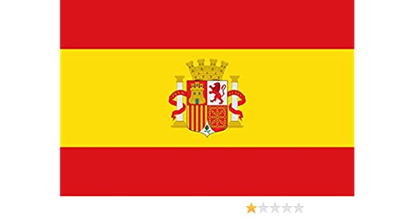 magFlags Bandera Large Española con el Escudo de España sin la ...