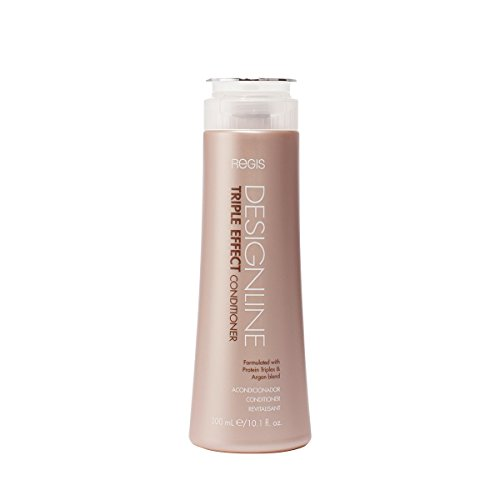 (Triple Effect Conditioner, 10.1 oz - Regis DESIGNLINE - Sulfate Free Argan Oil and Keratin Conditioner for Normal or Dry)