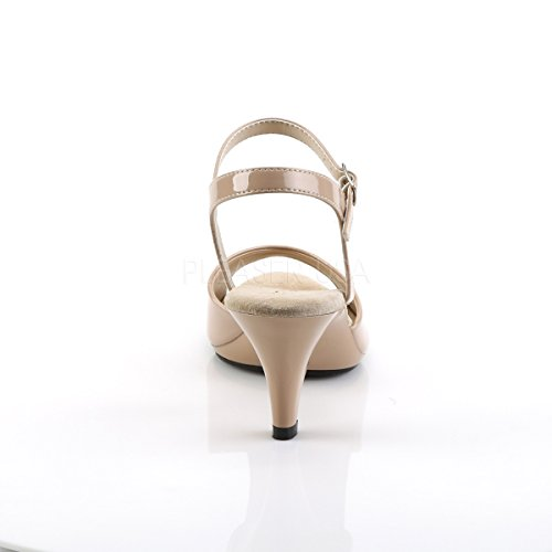 Fabulicious Riemchen-Sandalen Belle-309 Lack nude Lack nude