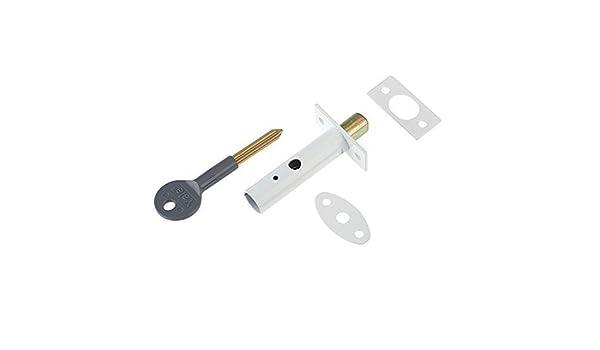 Yale Locks P2PM444WE Visi Pack - Perno de Seguridad Oculto para Puertas (1 Unidad), Color Blanco [Importado de Reino Unido]: Amazon.es: Bricolaje y herramientas