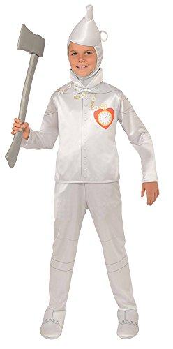 Wizard of Oz Child's Tin Man Costume, -