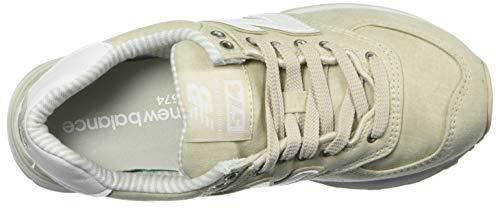 Wl574v2 New Femme Baskets Balance Moonbeam white Zq5q10n