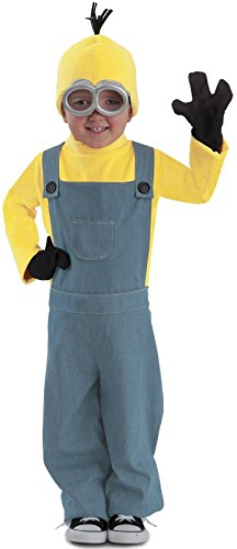[Princess Paradise Minions Kevin Child Jumpsuit Costume, Blue/Yellow, Medium] (Halloween Costumes Ideas For Newborns)