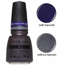 キリン移植八百屋CHINA GLAZE Nail Lacquer - Tranzitions - Shape Shifter (並行輸入品)