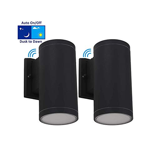Led Outdoor Wall Lights With Photocell in US - 9