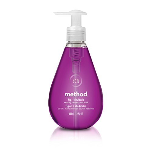 Method Gel Hand Soap, Fig + Rhubarb, 12 Ounce (Pack - Fig Seventh And