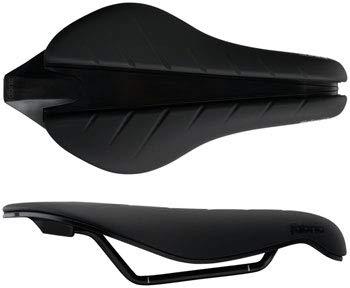 Fabric Tri Elite Flat Saddle: Black