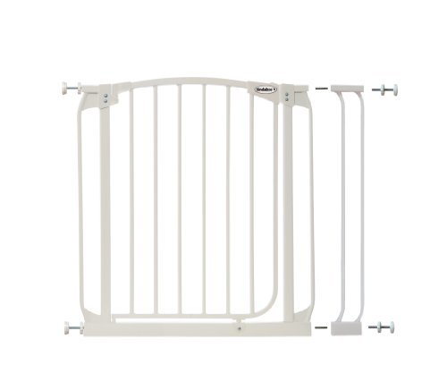 Bindaboo Swing Closed Security Gate, White ()