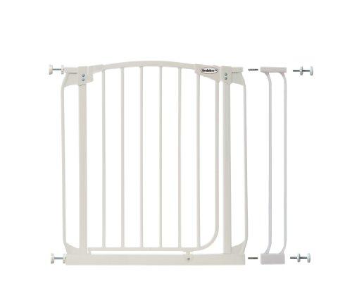 Bindaboo Swing Closed Security Gate, White