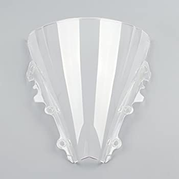 Kage Polycarbonate Clear Windscreen Windshield for 2006 2007 Yamaha R6