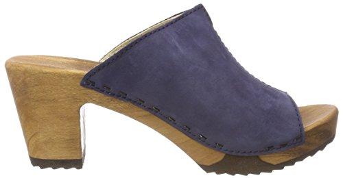 Woody Damen Elly Zoccoli Blau (abisso)