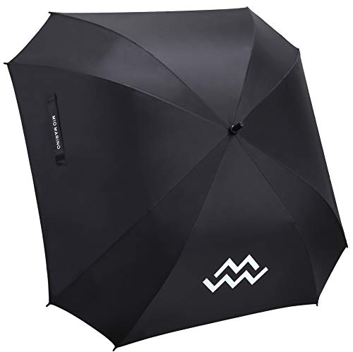 Mio Marino Extra Large Golf Umbrella Windproof - Square Umbrella - UV Protection - Automatic Open - for Men Women