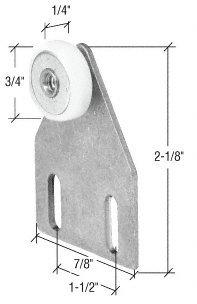 Package Door Roller Assembly Shower (CRL 3/4