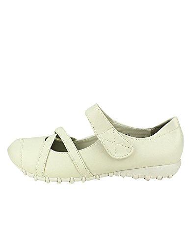 Confort Cendriyon Chaussures Ballerine Femme Blanc FFTCHwvq