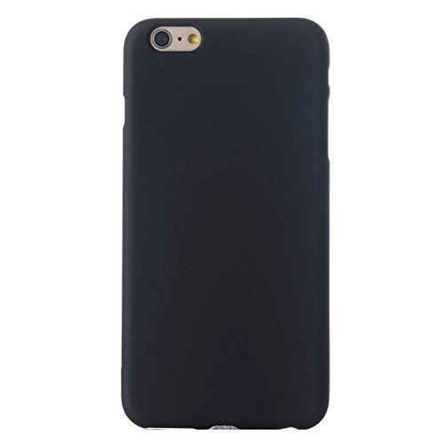 Phone Taschen & Schalen Frosted TPU Fall für iPhone 6 Plus & 6S Plus ( Color : Black )