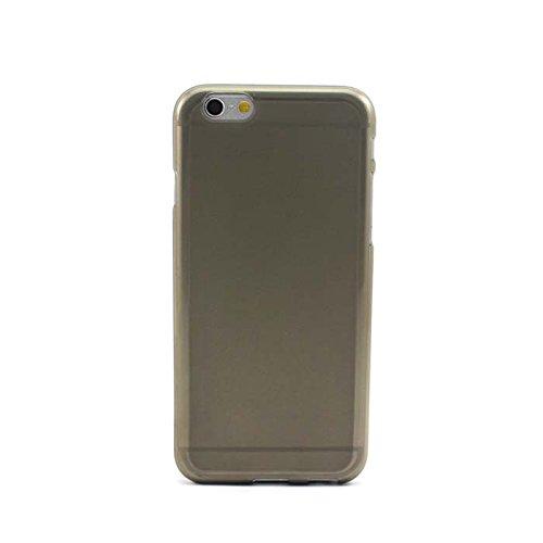 """HuaYang Nouveau ultra mince coque de protecteur arrière en silicone pour Iphone 6 4.7""""(Gris)"""