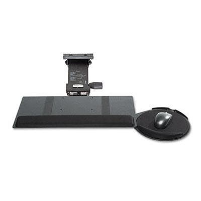 Kelly Computer Supply - Leverless Lift N Lock Keyboard Tray 19W X 10D Black Product Category: Desk Accessories & Workspace Organizers/Platforms Stands & Shelves by Kelly Computer by Kelly Computer