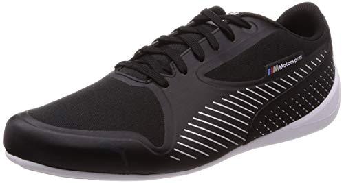 Puma Unisex Adults' BMW MMS Drift Cat 7 Ultra Low-Top Sneakers, Black Silver, 8.5 UK ()