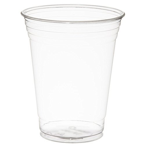 SOLO Cup Company COMINHKPR77731 TP16D-1 Solo TP16D 16 oz Plastic Ultra Clear Cold Drink Cup (1 Pack of 50), 1 Sleeve of 50,
