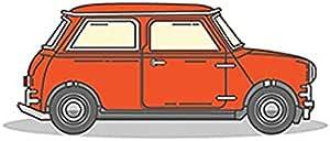Photo Block Cartoon Car Square Tableau 16 cmx16 cm - 2724806198270