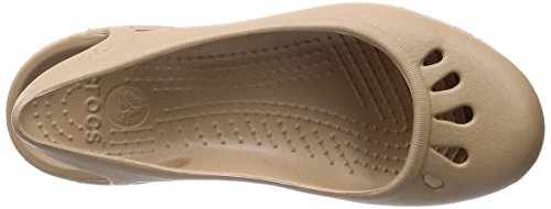 Crocs Womens Malindi Flat Gold