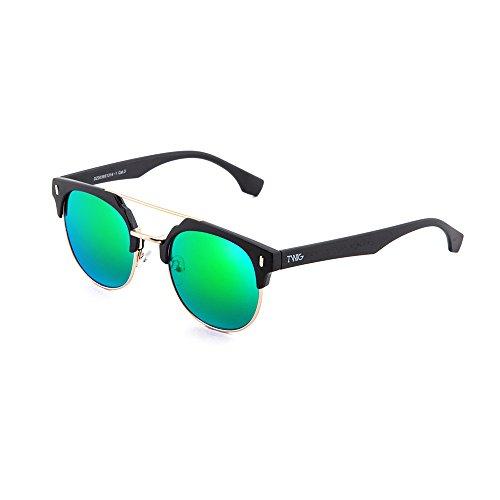 degradadas Gafas espejo de mujer Negro Verde DURER TWIG hombre sol 6xvWFwcnW