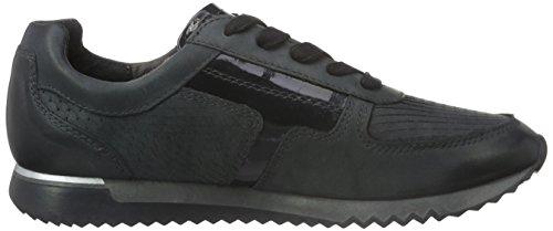 Tamaris Damen 23607 Sneaker Schwarz (NAVY NUBUC/STR 871)