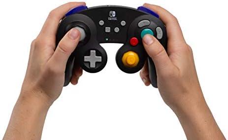 PowerA - Mando inalámbrico, Estilo GameCube Plateado (Nintendo Switch): Amazon.es: Videojuegos