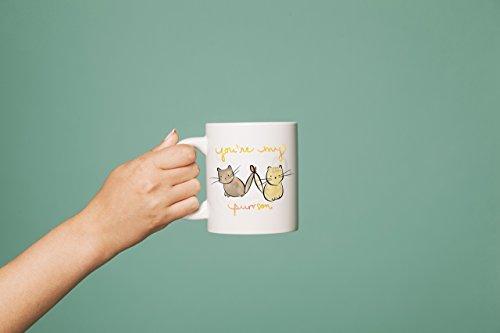 Cute Cat Mug, Best Friend Birthday Gift, Cat coffee Mug, BFF Gift, Friendship Mug, Christmas Gift For Girlfriend, Bff Mug, Cute Coffee - Old Sunglasses How