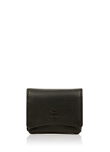 ladies Black Leather Purse purse Ladies Black top 10cm selling Ladies Real Classic OqBzZ
