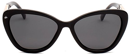 "PRIVÉ REVAUX ICON Collection ""The Hepburn"" Handcrafted Designer Polarized Cat-Eye Sunglasses - Sunglasses Designer Custom"