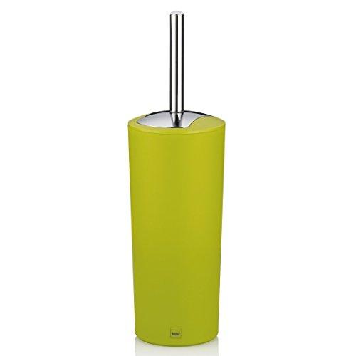 Kela 22293 WC-Bürste und Behälter, 36,5 cm Höhe, Kunststoff, Matt, WC-Garnitur, Marta, Grün