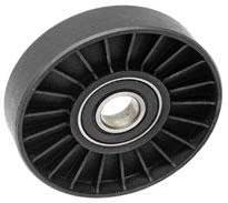 Amazon.com: Saab 9-3 Turbo 9-5 2.3 drive belt tensioner Pulley (Smooth) PRO PARTS roller: Automotive